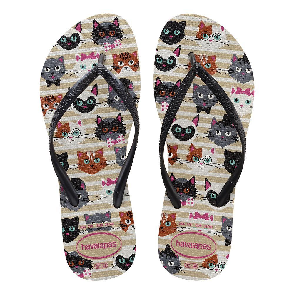 b6e0b6db738361 Havaianas Slim Pets Areia - havaianas Ipanema Sandals
