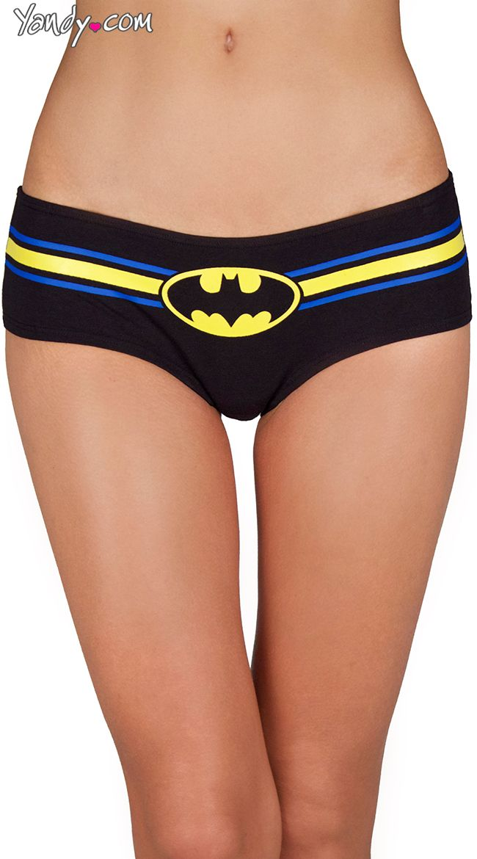 39b3fe125bc Plus Size Batman Glow in the Dark Panty 3 Pack