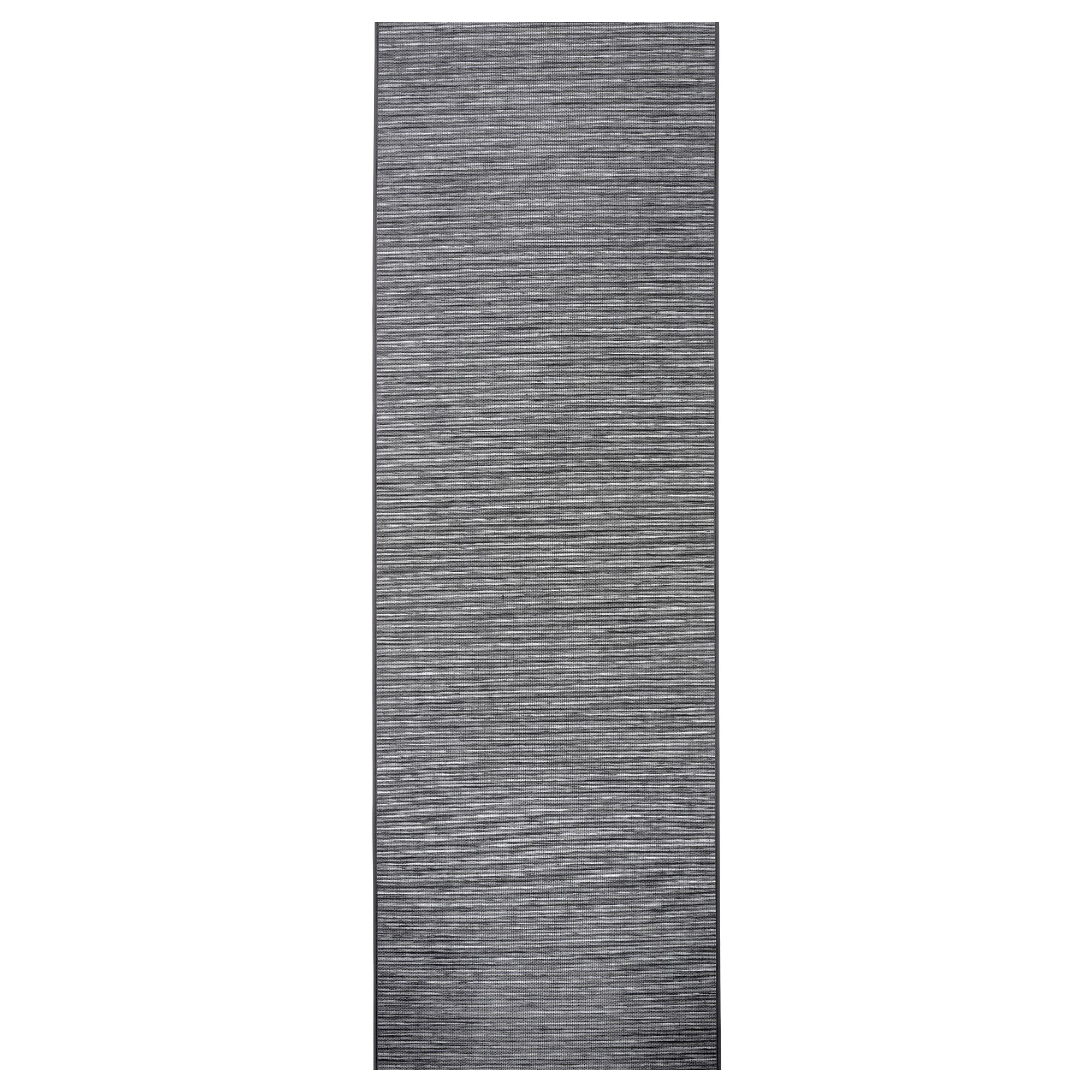 FÖNSTERVIVA Panel Curtain - Dark Gray 24x118 ""