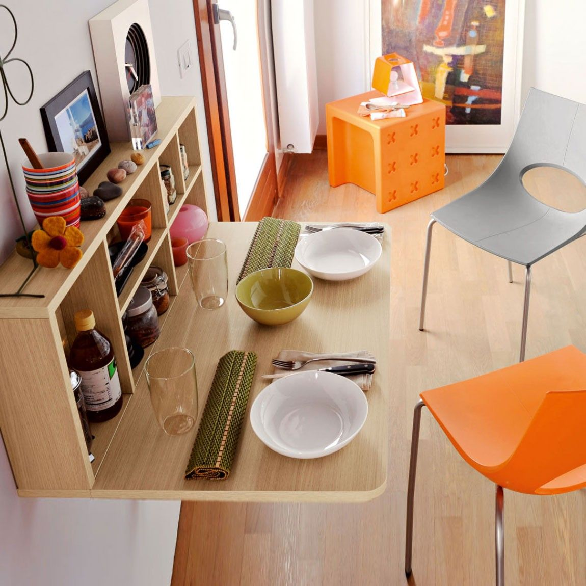 Folding Dining Room Table Space Saver Fold Down Dining Table On Bestdecorco