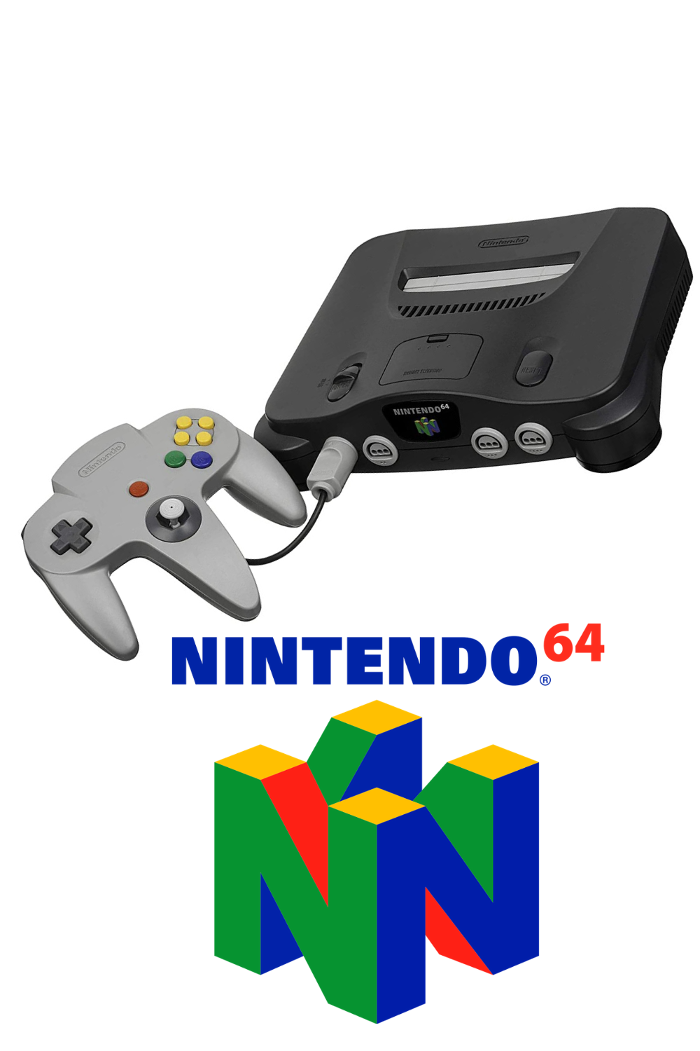 Nintendo 64 In 2020 Video Game Systems Nintendo 64 Video Game Console