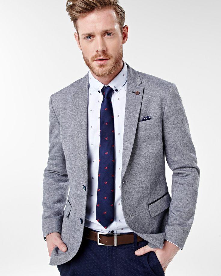 Grey blazer combo Rwco CA Blazer outfits men, Grey