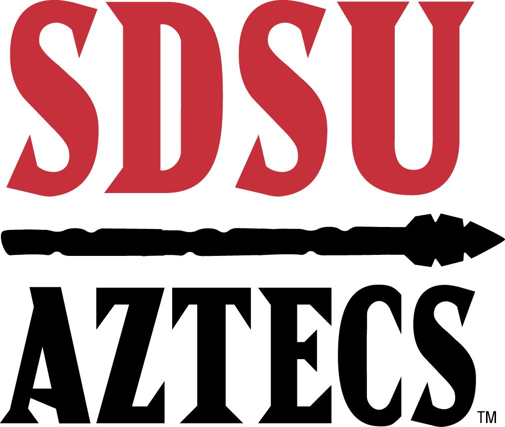 San Diego State Aztecs Wordmark Logo 2013 Pres Word Mark Logo Diego San Diego State University