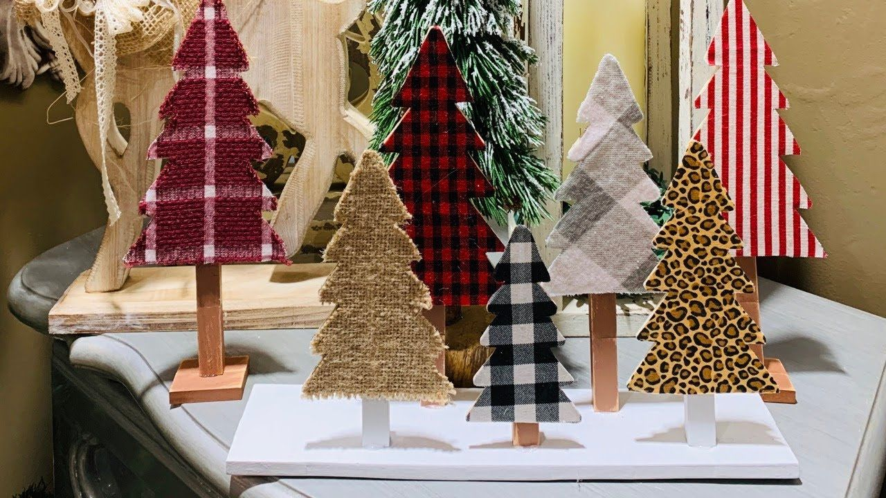 Diy Using Dollar General Puzzle Trees Dollar Tree Jenga Blocks 58 Youtube Jenga Blocks Dollar Tree Christmas Christmas Tree Crafts