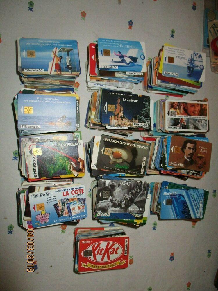 carte telephonique collection cote Grosse collection de plus de 1300 télécartes/cartes téléphoniques