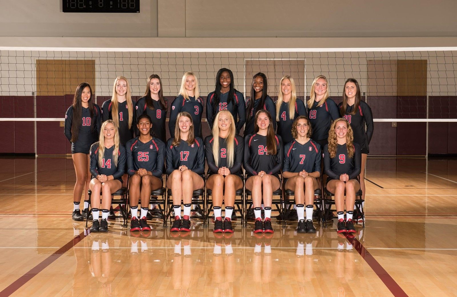 2016 Women S Volleyball Roster Gostanford Com Stanford Athletics Women Volleyball Stanford Volleyball Volleyball