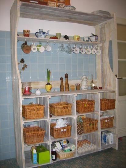 buffet de cuisine palette bois palette wood pinterest buffet de cuisine de cuisine. Black Bedroom Furniture Sets. Home Design Ideas