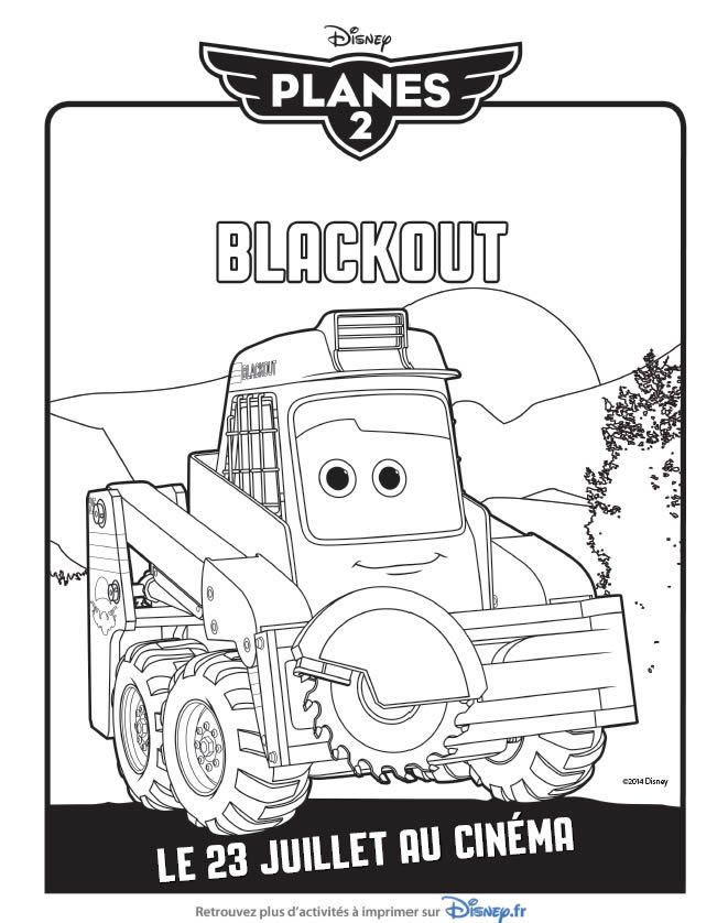 Funky Coloriage Planes 2 Blackout Adornment - Framing Coloring Pages ...