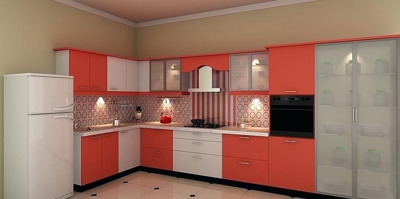 modular kitchen designs india standard kitchen indian ...