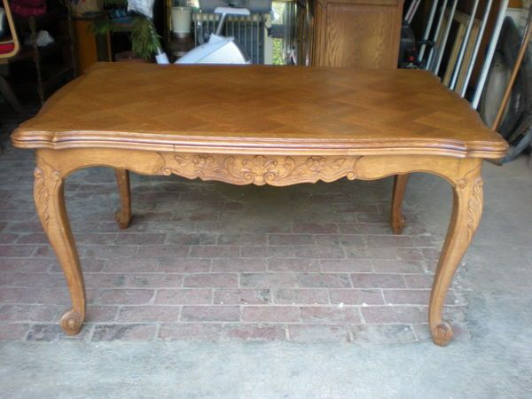 Massif Une Table Régence OccasionMeubles Merisier En Style b7fy6gvY