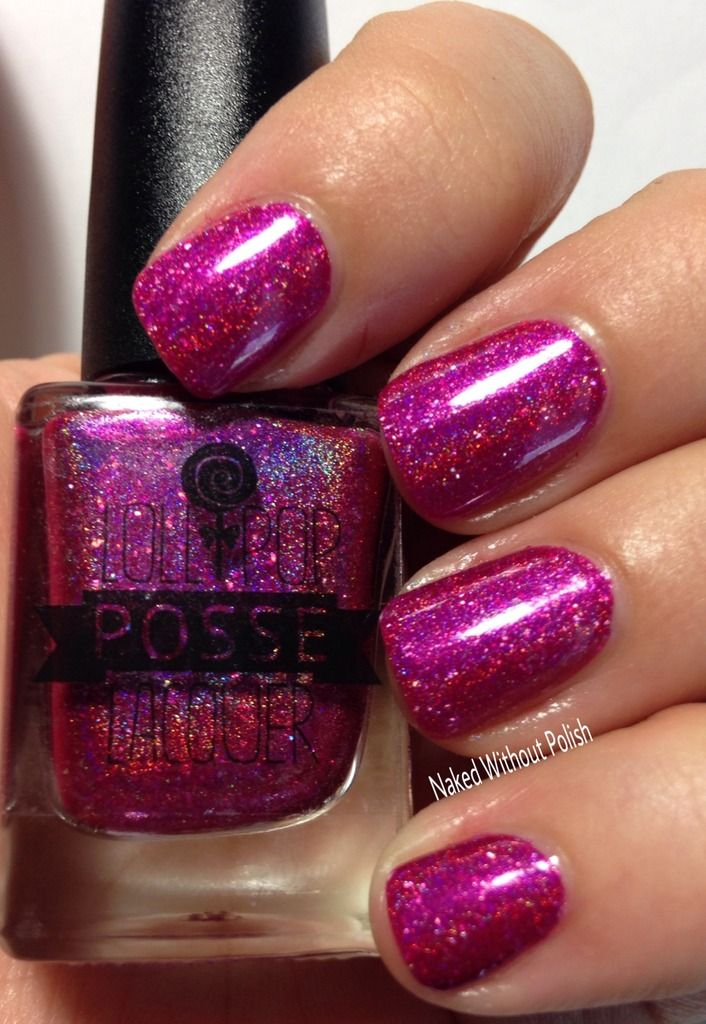 Lollipop Posse Lacquer Really Almost Beautiful in direct light