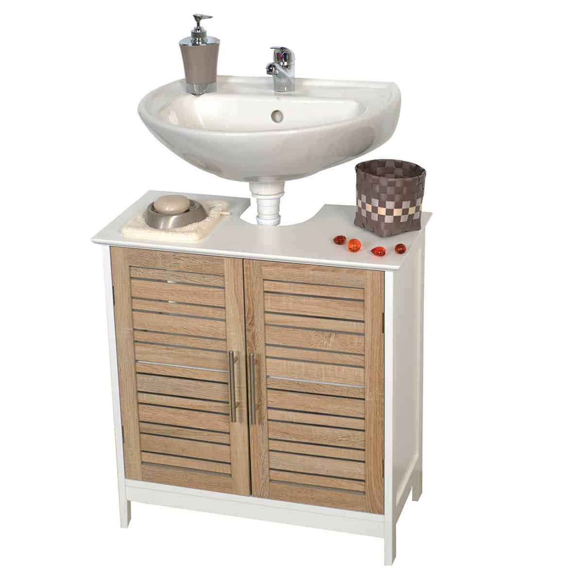 Freestanding Non Pedestal Under Sink Vanity Cabinet Bath Storage Wood Stockholm In 2020 Small Bathroom Storage Pedestal Sink Storage Small Bathroom Storage Cabinet