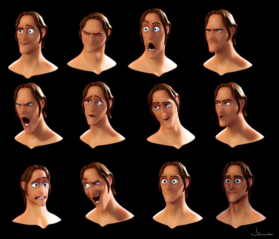 Facial expression animation — pic 5