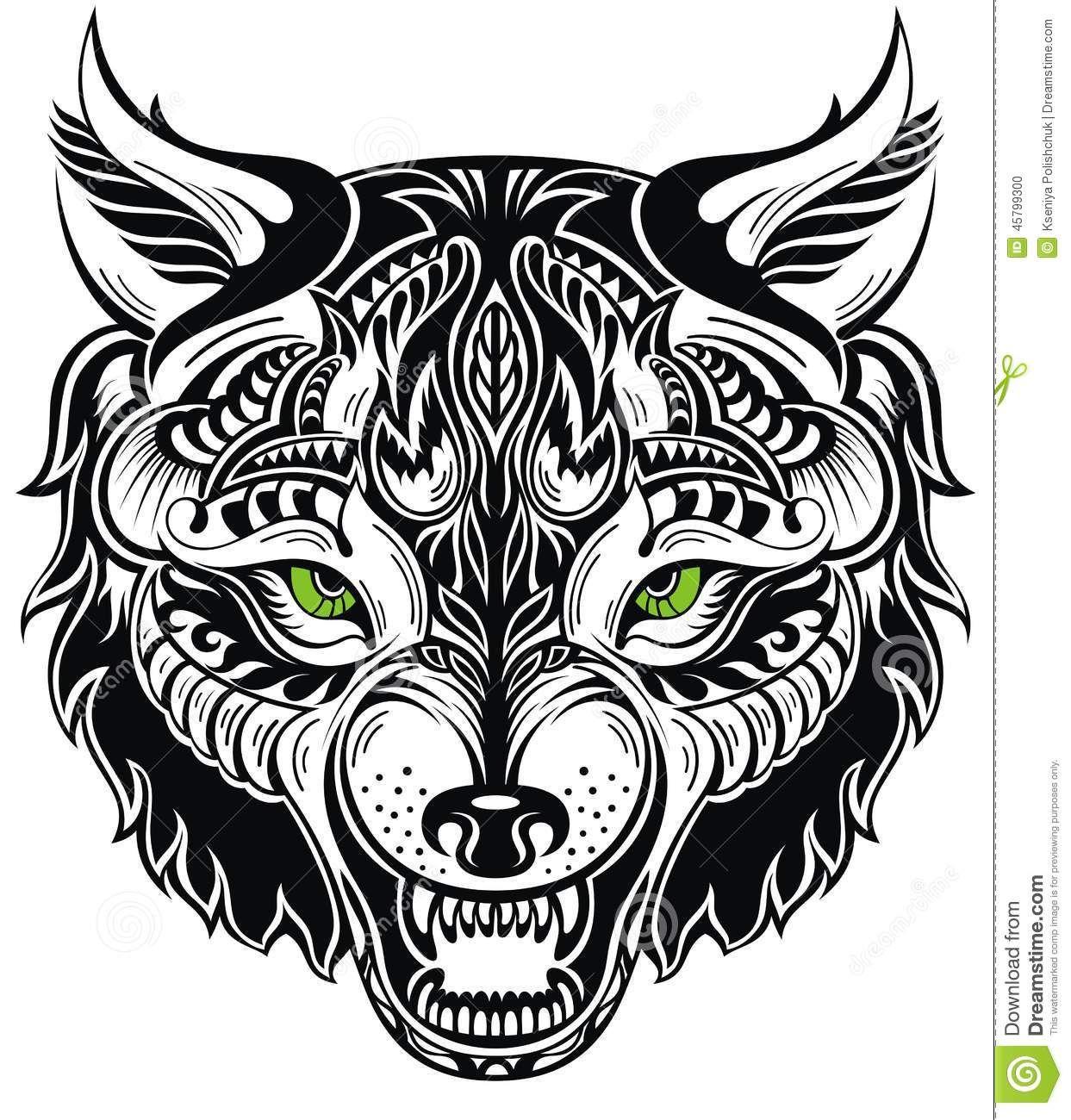 Wolf Totem Tattoo Totem Animal Wolf Tattoo