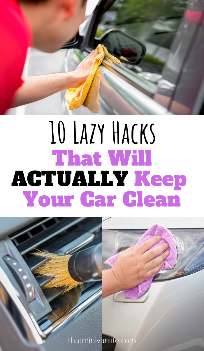 10 Tips for a Cleaner Car ~ That Minivan Life