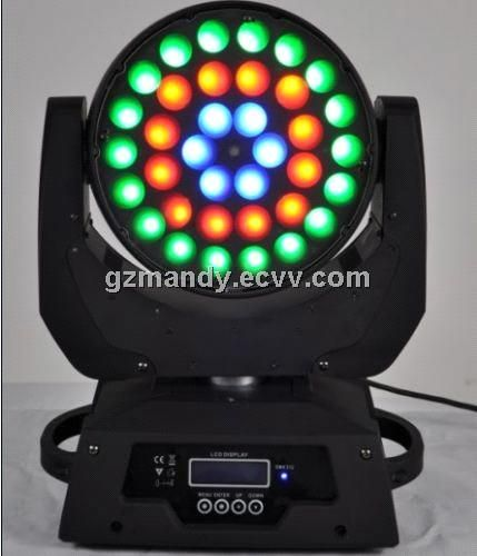 Hot Sale 36 10w Rgbw 4in1 Led Moving Head Wash Light Md A003 China Stage Light Moving Head Rgbw Led Moving Head Light Mo Commercial Lighting Led Dimmer Led