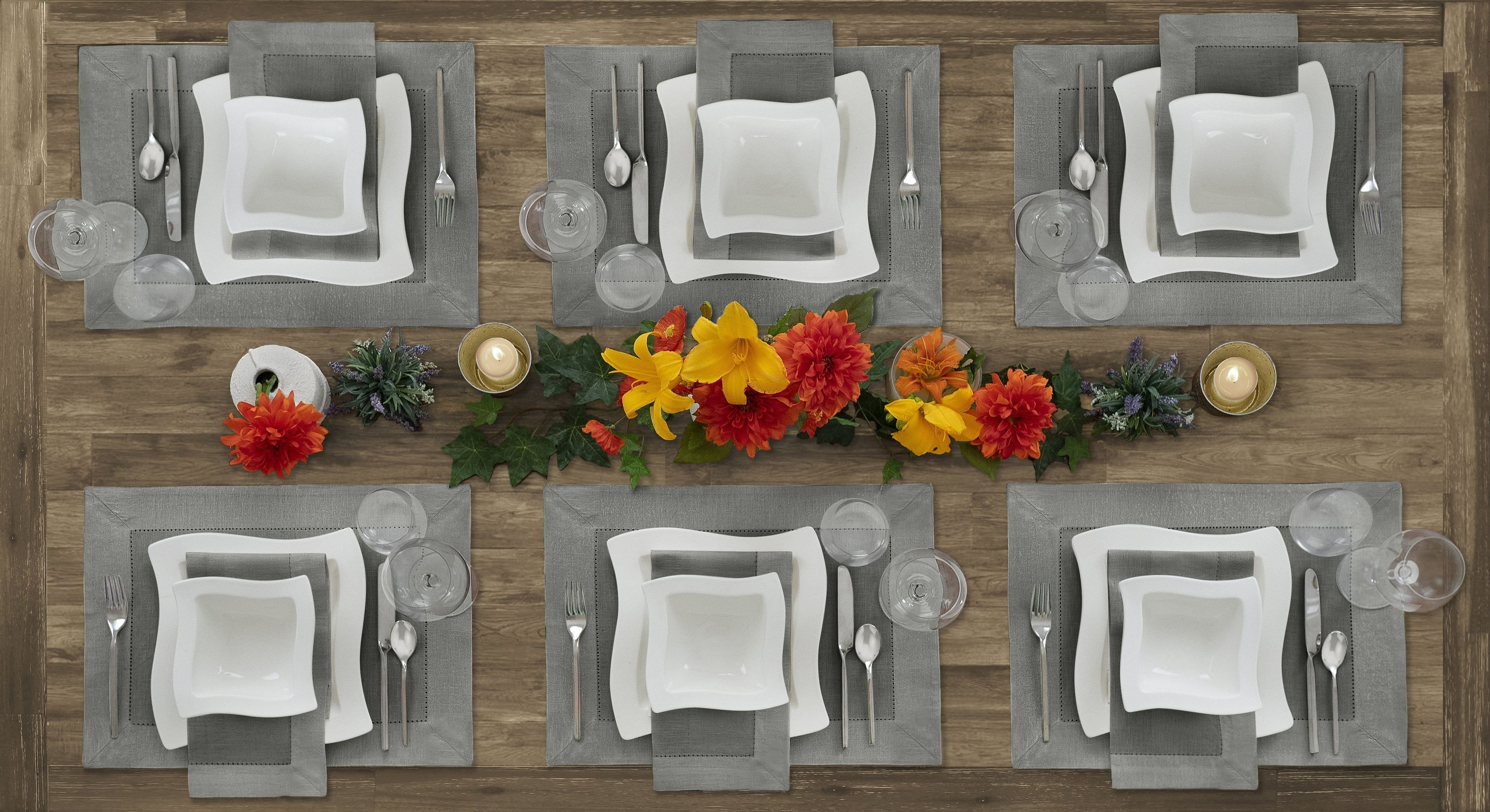 Villeroy Boch New Wave Metallic Border Placemat Set Of 4 Villeroy Boch Placemats Dinnerware Design