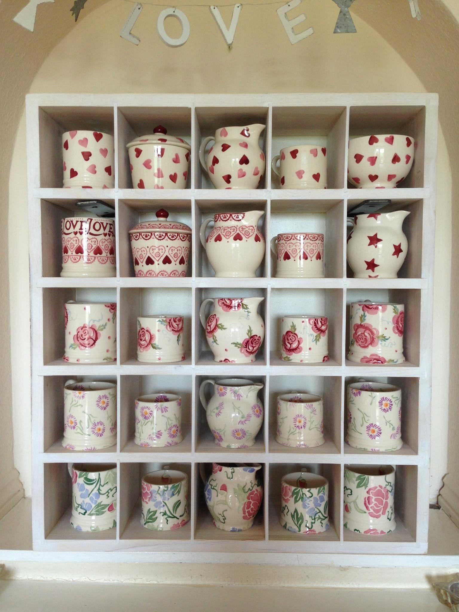 Emma Bridgewater Collection Of Mugs Emma Bridgewater Mugs Pottery