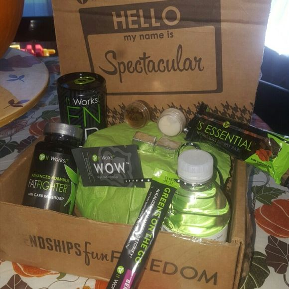 A Sample pack of It Works products! Get this awesome sample