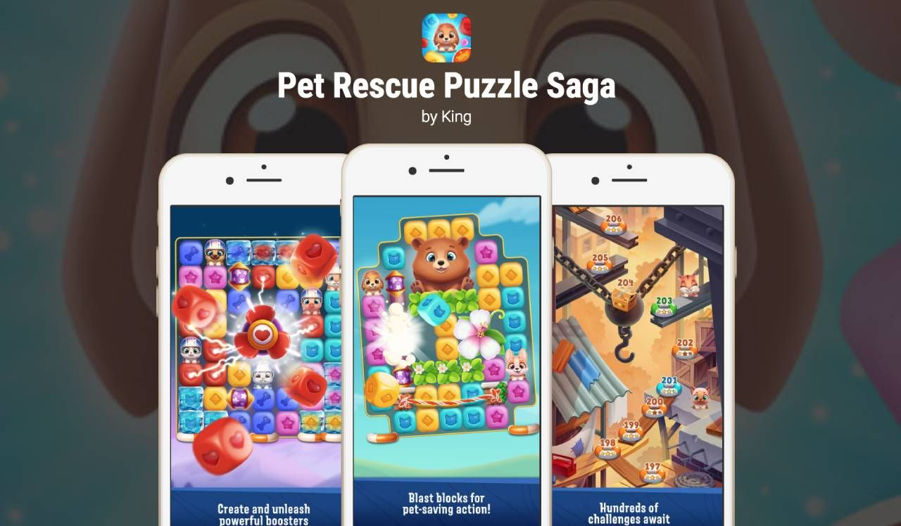 Pin on Pet Rescue Puzzle Saga APK Download free for