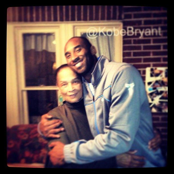 Photo By Kobebryant Kobe Bryant With His Grandmother Nbafamily