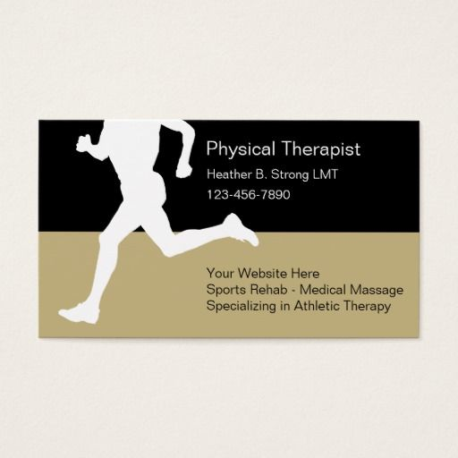 Physical therapist business cards business cards and business physical therapist business cards colourmoves Gallery