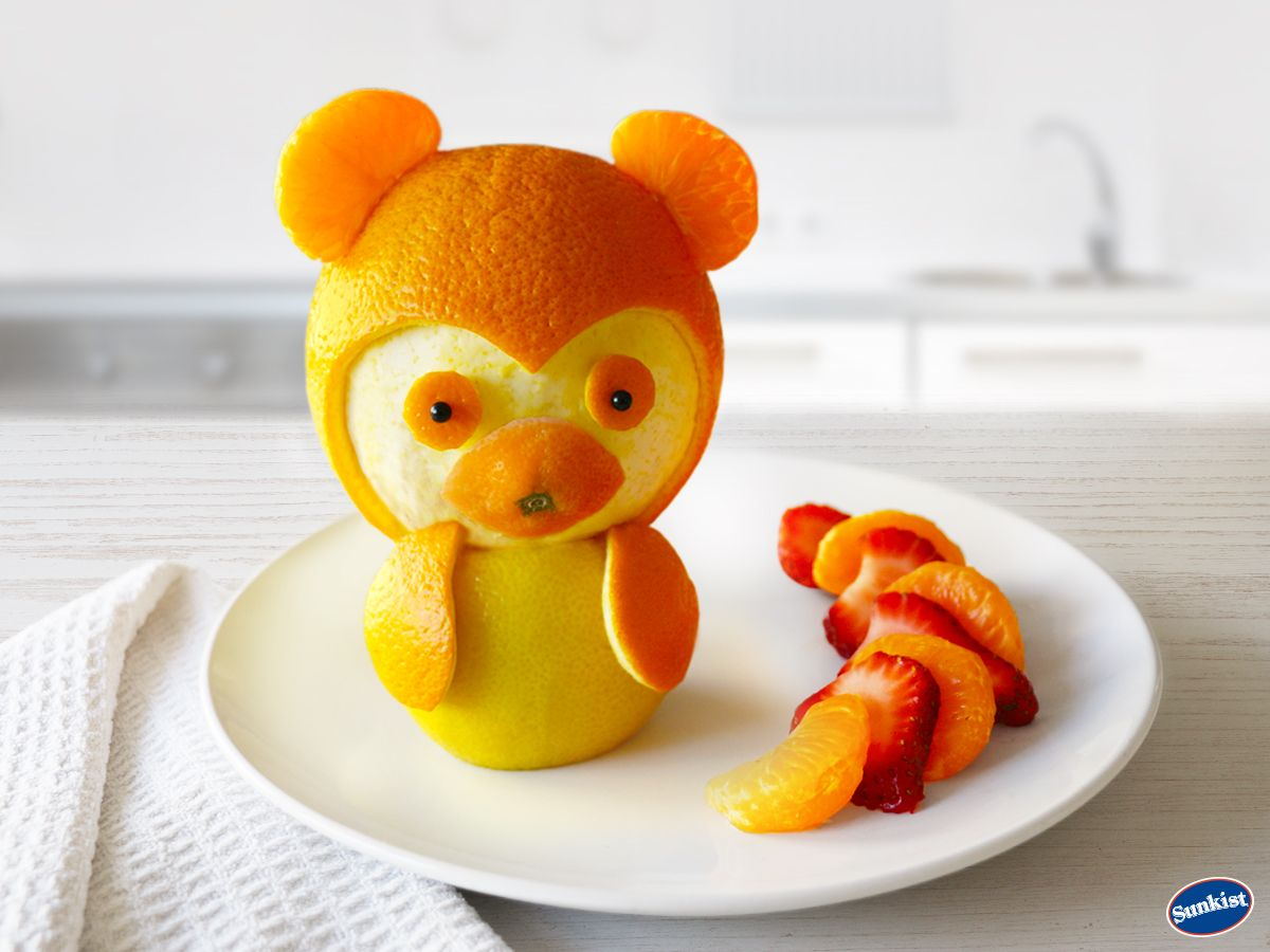 When breakfast is this cute, the kids won't even care that it's healthy.