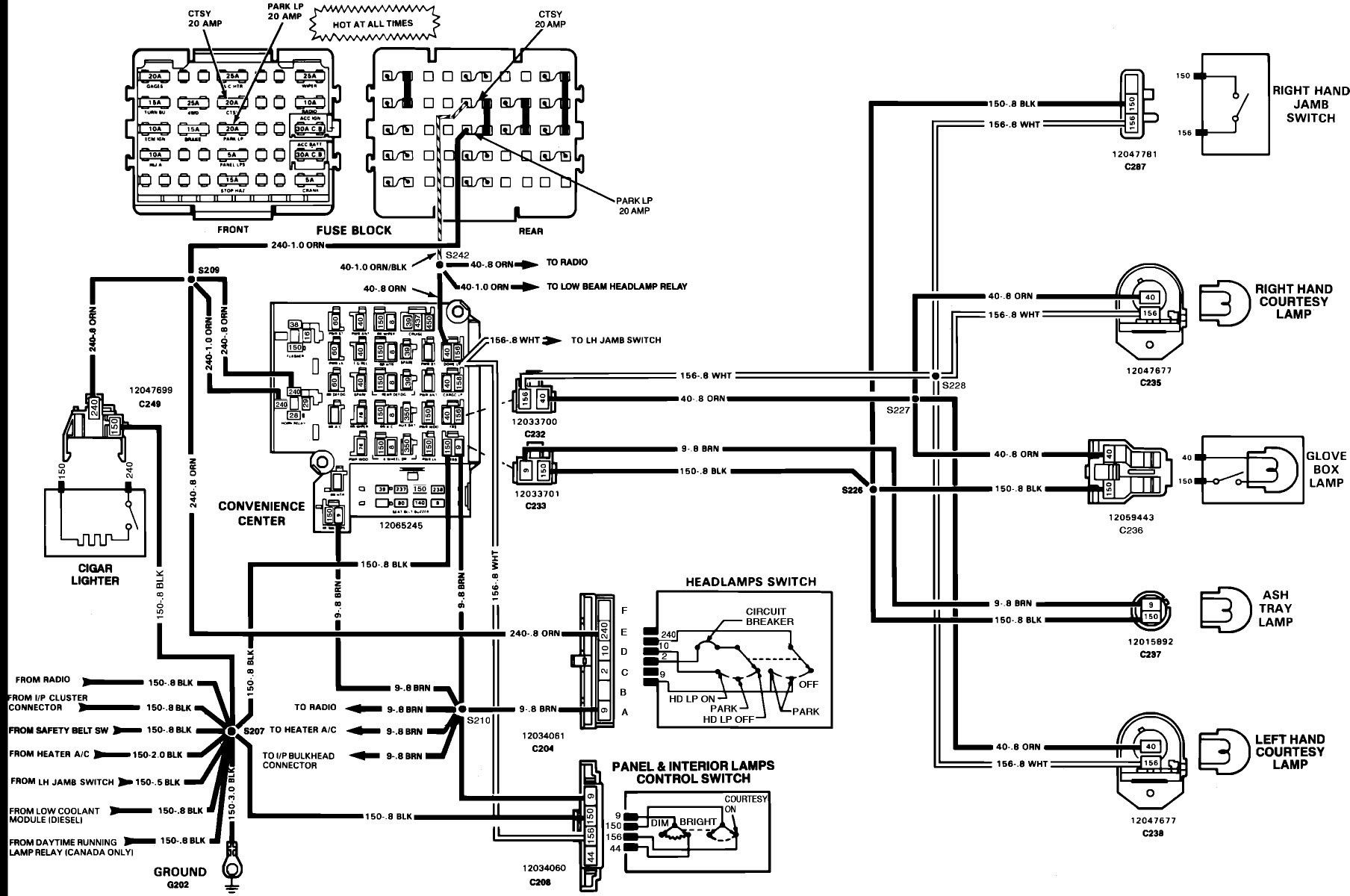 1994 S10 Wiring Diagram : Diagram Wiring Diagrams 1994 S10
