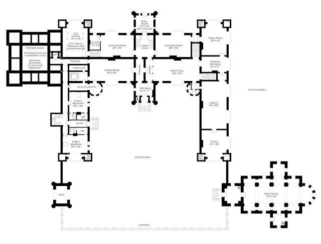 Lord Foxbridge Goes To Ground: Floor Plans