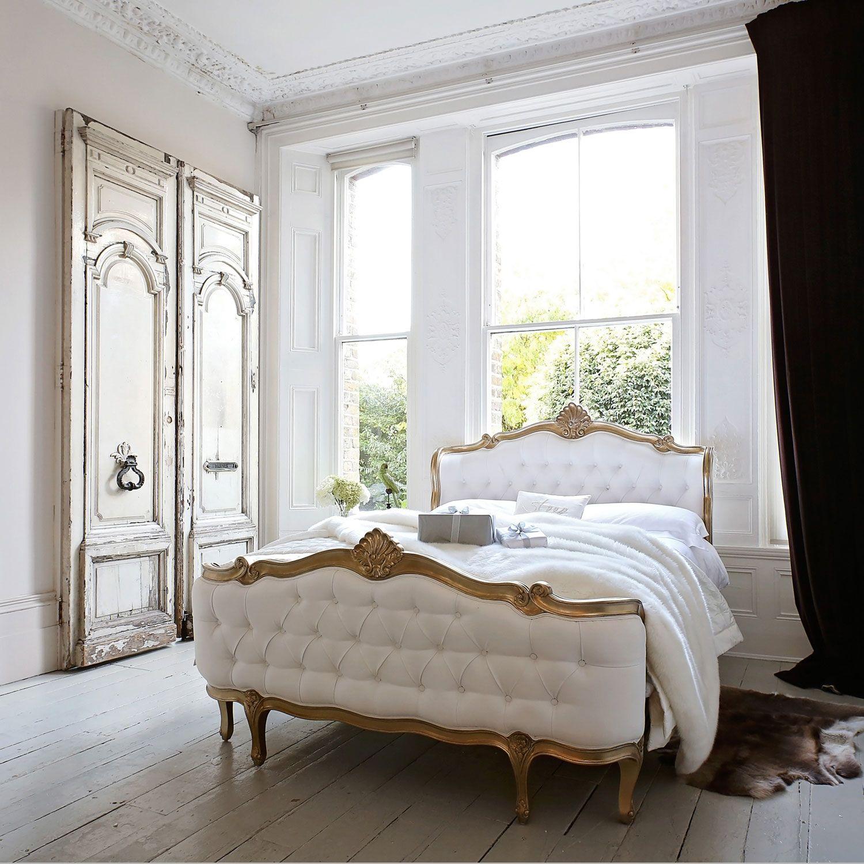 Designing A Bedroom Online Adorable Champagne Gold Shell Bed  Interior Design  Pinterest  Beds 2018