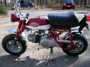 Honda 50 Mini Trail My Father Bought This Same Bike For Me When