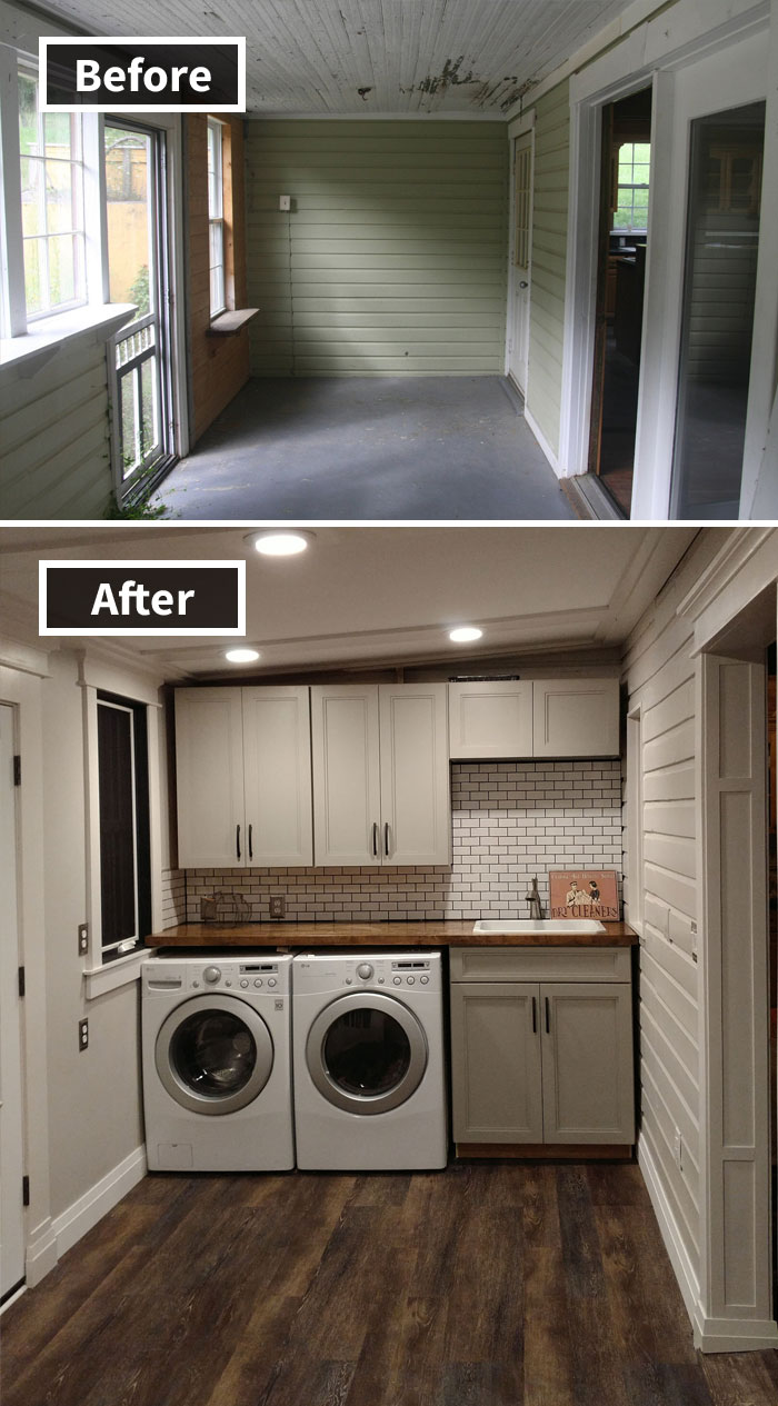 190 Rooms Before And After Makeover In 2020 Home Renovation
