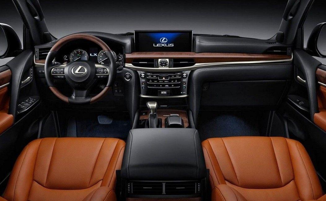 2019 Lexus Lx 570 Cabin