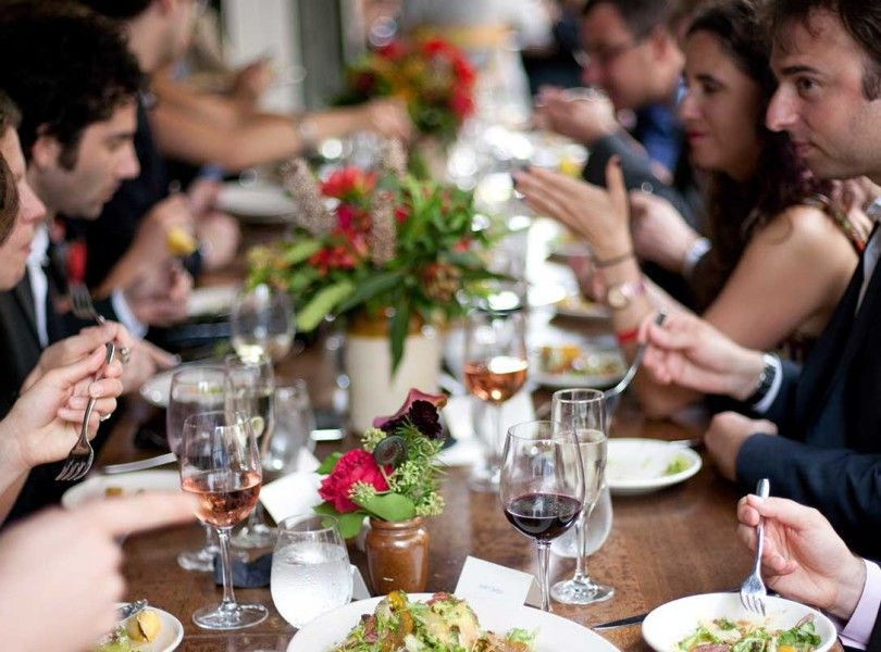 20 Really Really Great Ideas For Buffet And Family Style Wedding