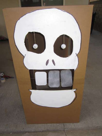 http://www.instructables.com/id/How-to-throw-a-Nerf-Gun-Birthday-Party/step4/Fun-Nerf-Target-Skull-shootout/