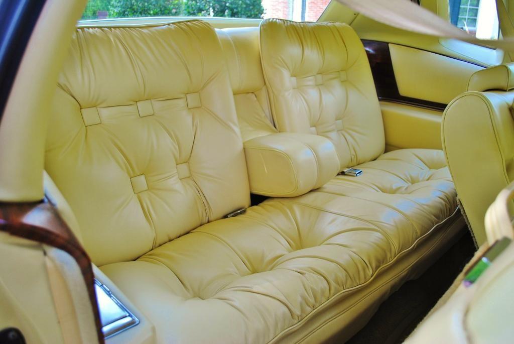 1978 Cadillac Eldorado Biarritz interior