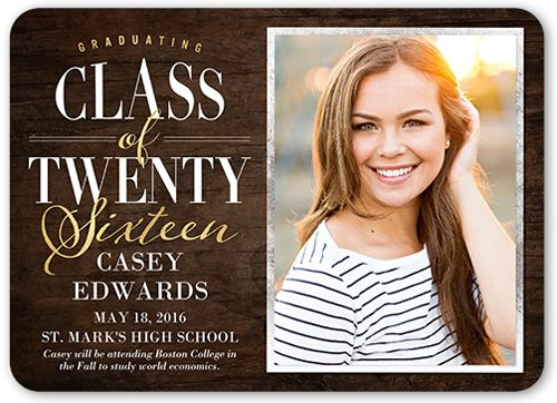 Graduation Announcements Products Pinterest - graduation announcement template