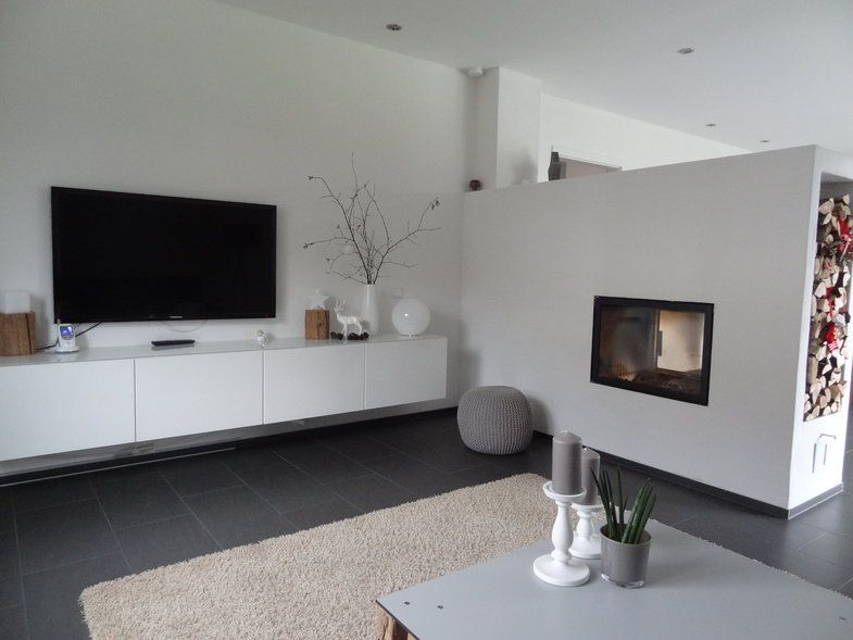 Wohnzimmer mit Kamin Living rooms, Room and House