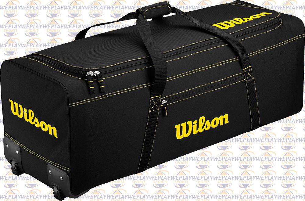 Wilson 174 Catchers Team Equipment Bag On Wheels Baseball