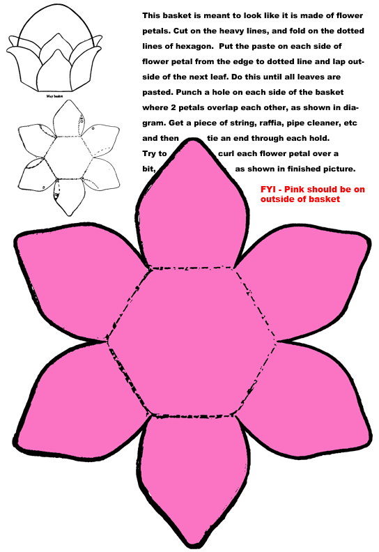 Paper Crafts Templates Paper Folding Craft Crafts For Girls
