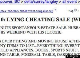 Craigslist cheating spouse