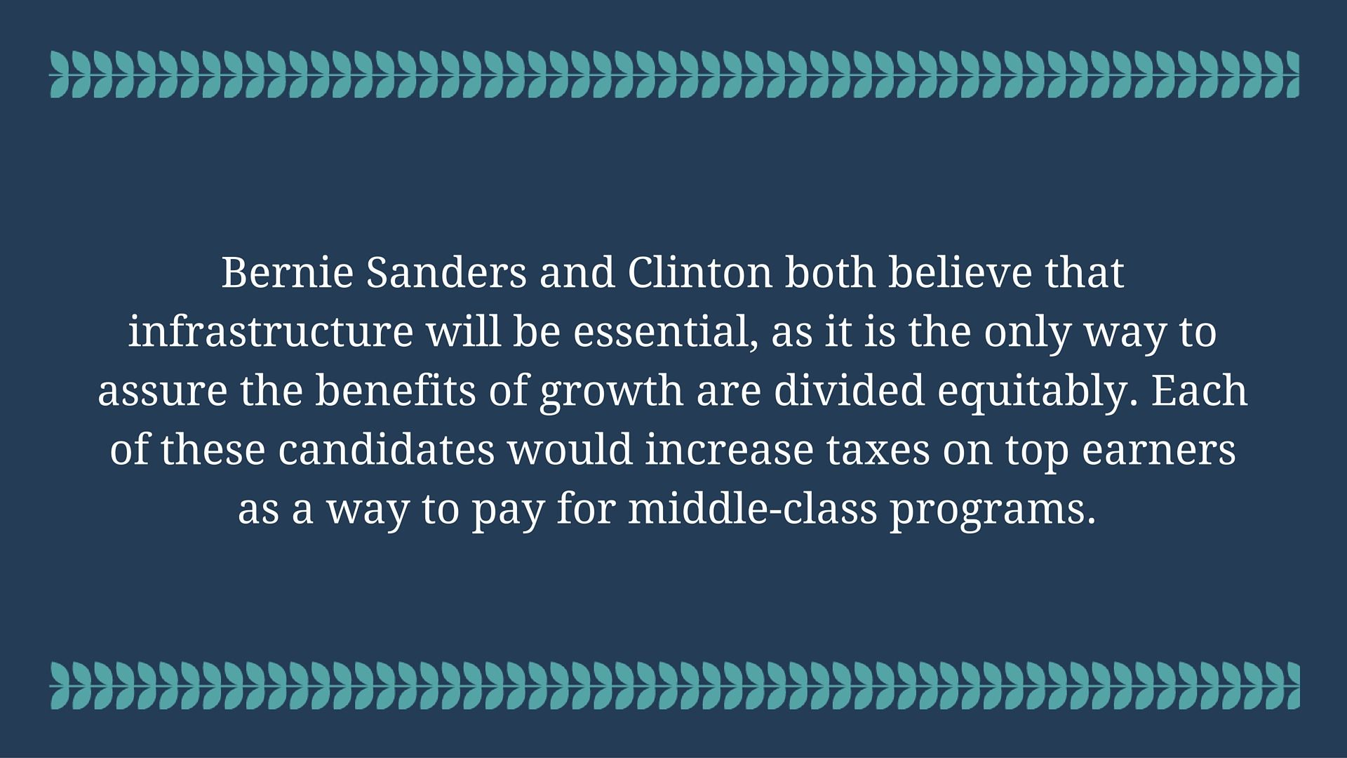 Where Do The Candidates Stand On Taxes, Economic Policy?