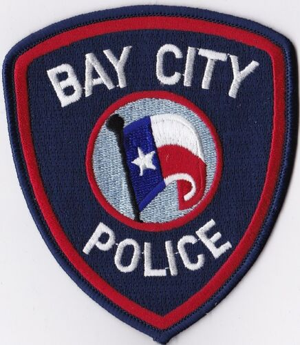 Details about Bay City Police Patch Texas TX (With images