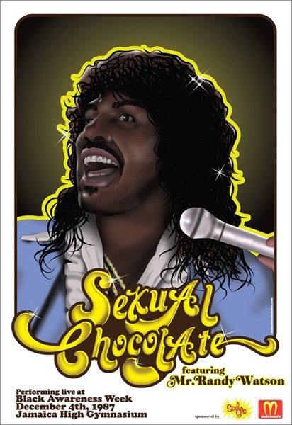 Sexual chocolate coming to america pictures