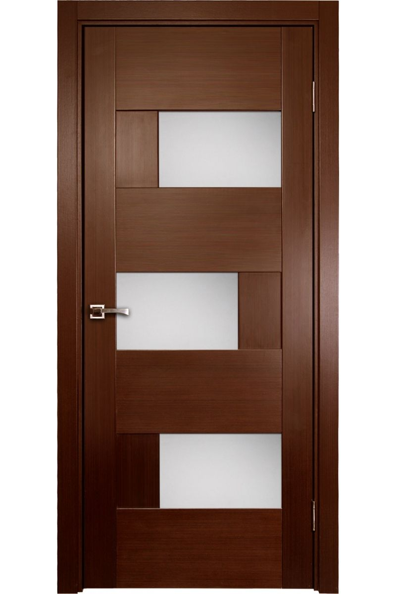 Door design ideas interior browsing creative brown modern for Modern front door ideas