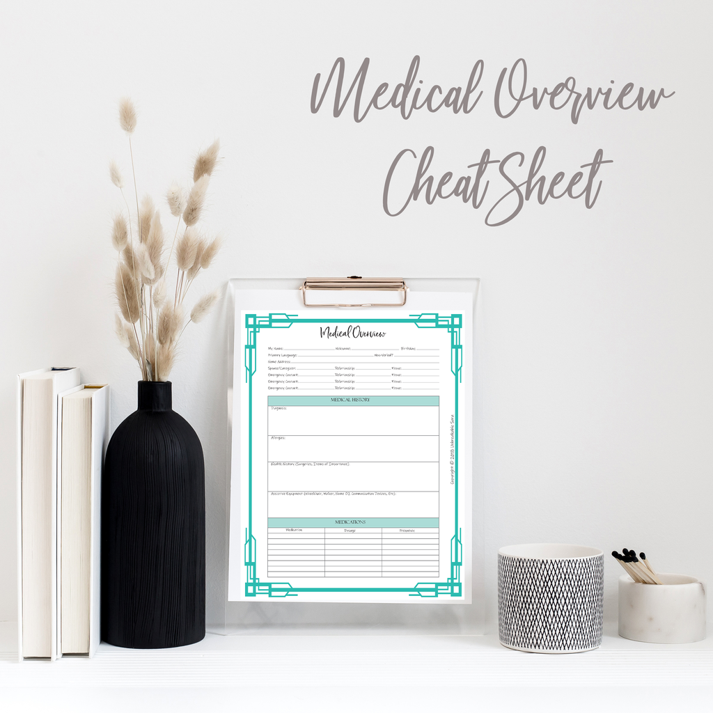 Medical Overview Cheat Sheet With Images Medical Best