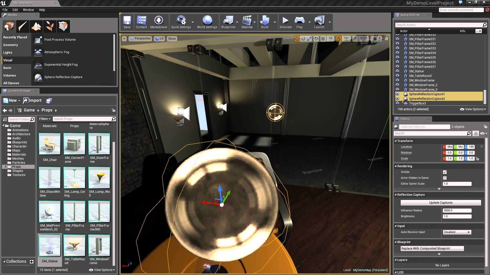 Learn how to add lighting and props to your level in ue4 a link to a link to the wiki for further notes is available here httpswiki unrealenginecreatingal malvernweather Gallery