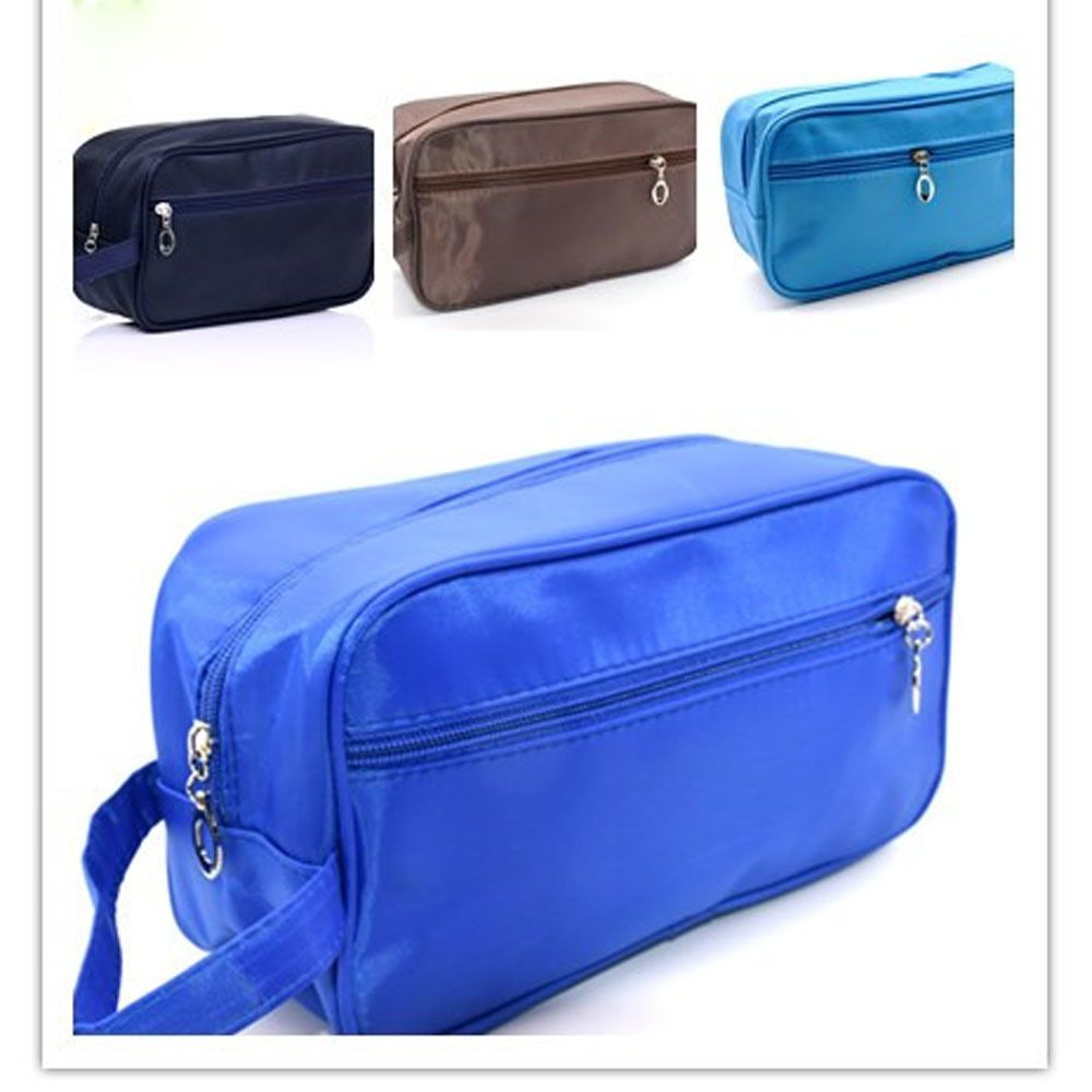 6a3f93160878 Mens Hanging Travel Toiletry Kit Wash Bag Case Cosmetic Makeup Grooming  Camp Bag