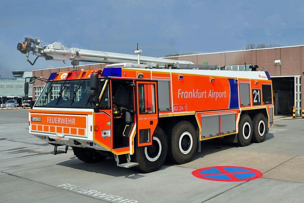 Simba HRET FlughafenLöschfahrzeug GFLF 6012515SP von