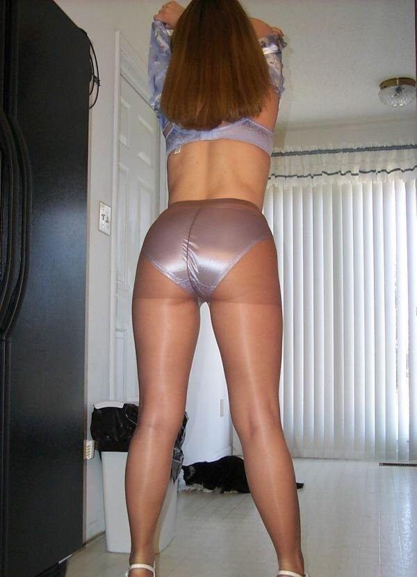 Female fetish hose pantie